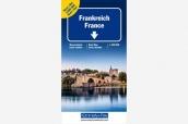 K+F Frankreich Doppelkarte 1:600'000