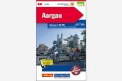K+F Velokarte Aargau 1:60'000
