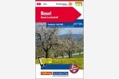 K+F Velokarte Basel 1:60'000