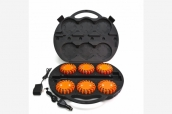 Led Super Flare orange - 6 Set im Koffer