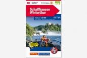 K+F Velokarte Schaffhausen Winterthur 1:60000