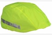 Helm - Regenüberzug neongelb