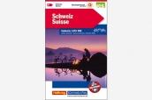K+F Velokarte Schweiz