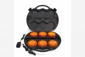 Led Super Flare orange - 6 Set im Koffer