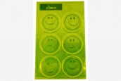 Smiley Sticker Reflektor
